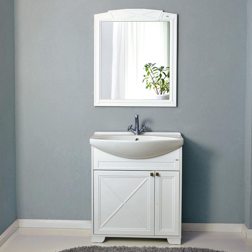 Мебель для ванной Атолл Палермо 275 декор caprigo мебель для ванной caprigo джардин 80 ontano
