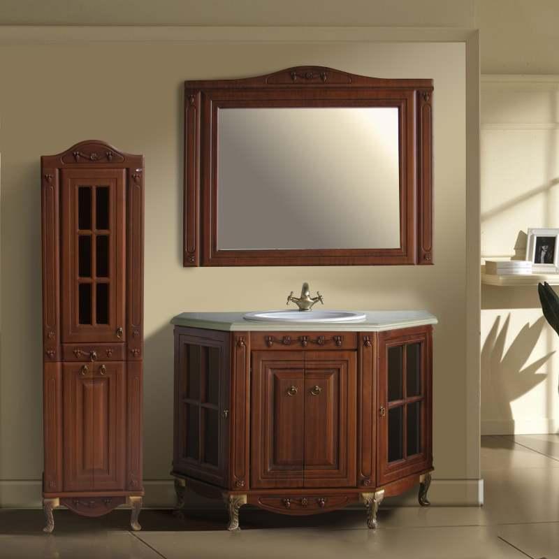 Мебель для ванной Атолл Верона 120 scuro iva мебель для ванной