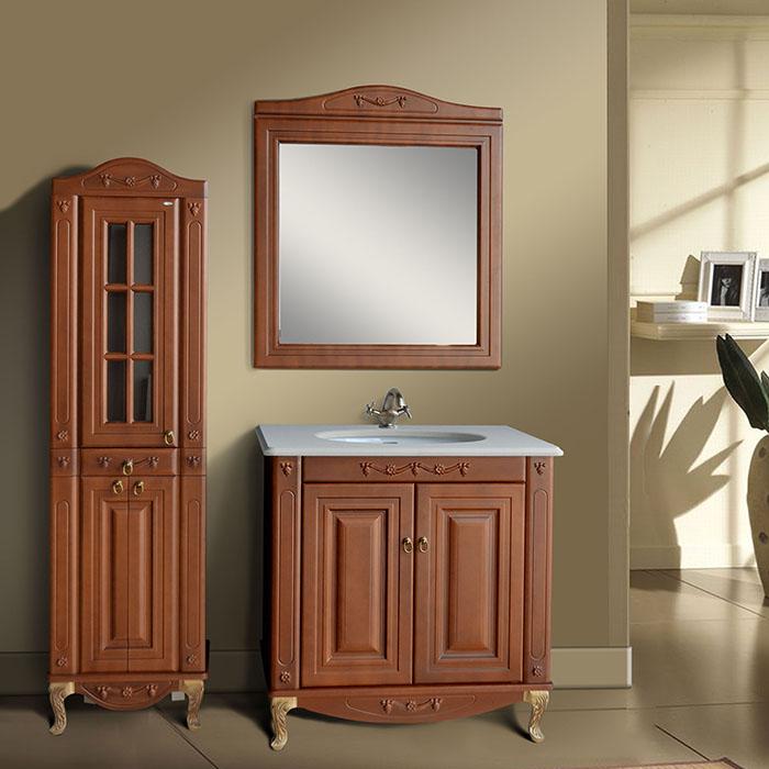 Мебель для ванной Атолл Верона 85 scuro iva мебель для ванной