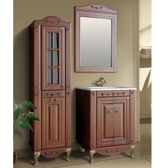 Мебель для ванной Атолл Верона 65 scuro iva мебель для ванной