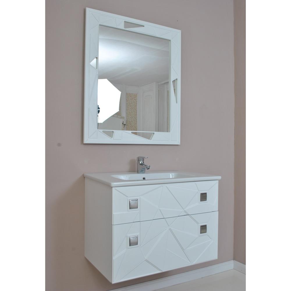 Мебель для ванной Атолл Корсо 80 белый матовый caprigo мебель для ванной caprigo джардин 80 ontano
