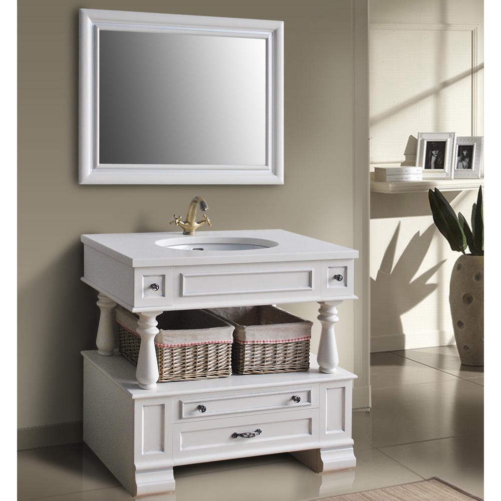 Мебель для ванной Атолл Джулия ivory(серебро) тумба с раковиной атолл джулия ivory серебро