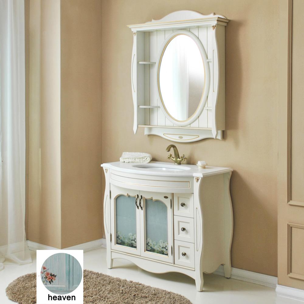 Мебель для ванной Атолл Ривьера 100 heaven (небесно голубой) тумба с раковиной атолл ривьера heaven небесно голубой