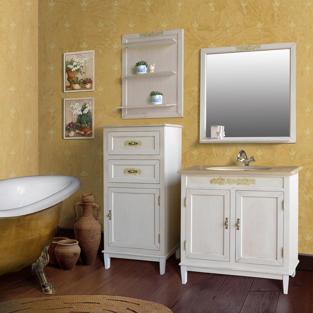 Мебель для ванной Атолл Марсель 285 Old ivory (слонова кость состаренная) тумба с раковиной атолл джулия двойная old ivory слонова кость состаренная