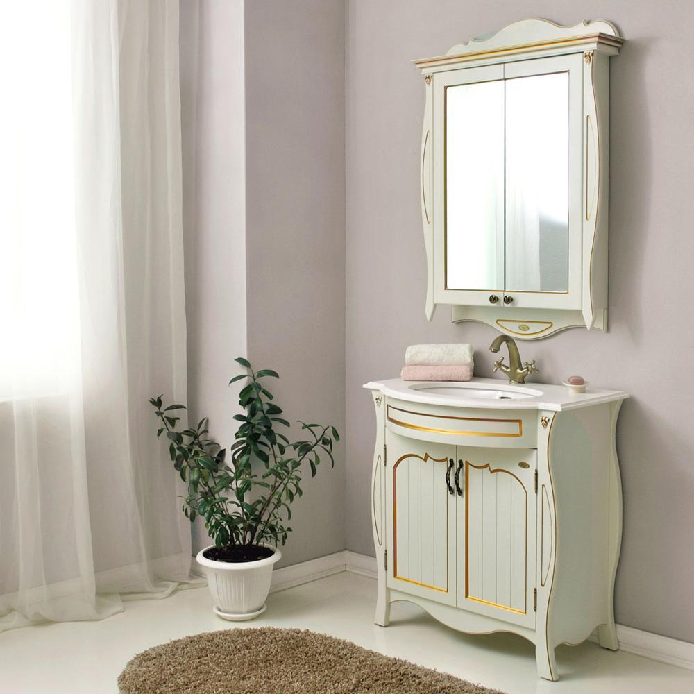 Мебель для ванной Атолл Ривьера dorato тумба с раковиной атолл ривьера 100 dorato