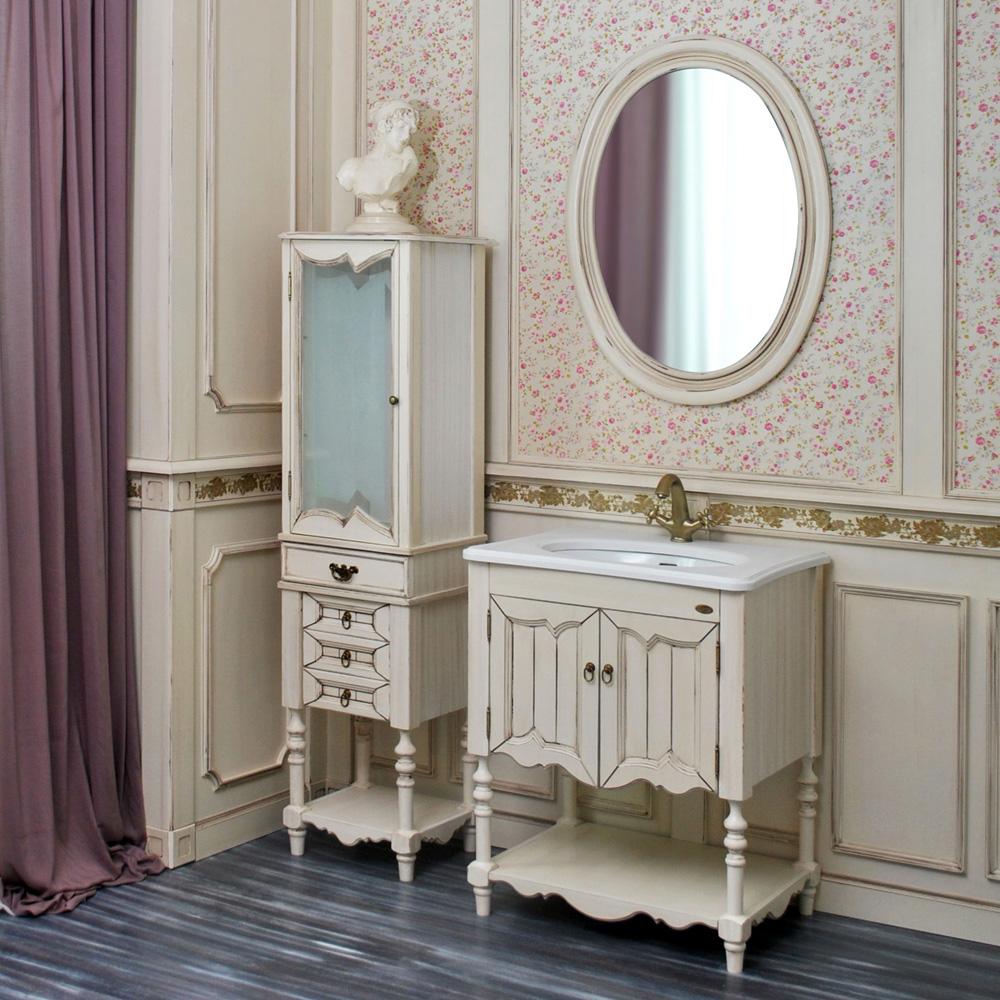 Мебель для ванной Атолл Флоренция ivory old тумба с раковиной атолл флоренция ivory old