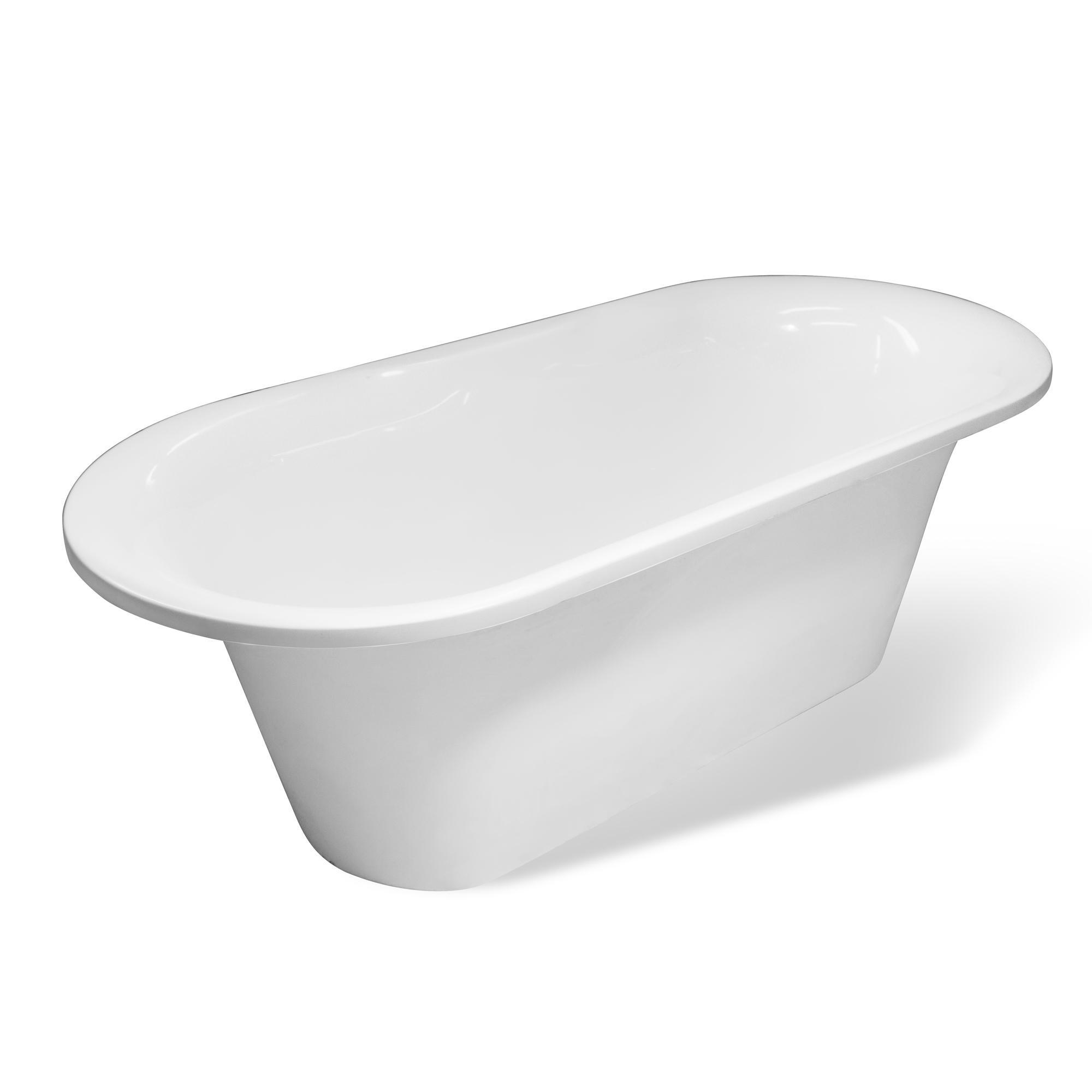 Ванна Эстет Лион 174 белая ванна эстет лаура белая