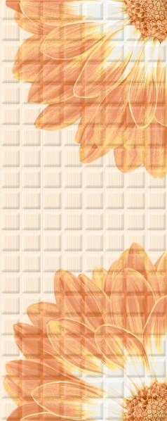 Mariscos Плитка настенная Floris Mocca 20,1х50,5