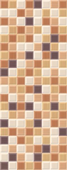 Mariscos Плитка настенная Mosaic Mocca 20,1х50,5
