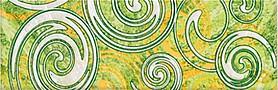 Фьюжн Минт Бордюр Рондо 9х27,8 бордюр golden tile petrarca фьюжн 9x30