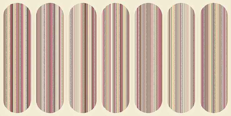Декор Boho Mocca Geometry 31,5x63 декор azori триоль какао ноктюрн 2 20 1x40 5