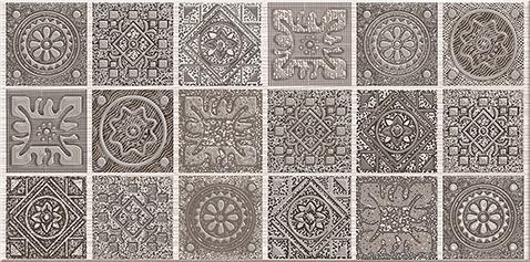 """Grazia Декор Mocca """"Nefertiti"""" 20,1х40,5 декор grazia essenze onda 3x26 magnolia"""