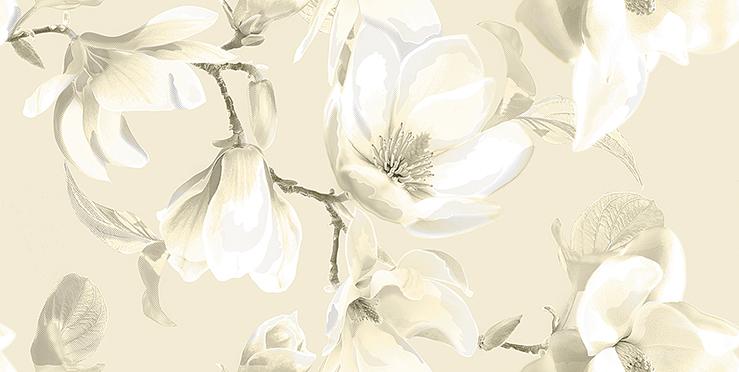 Декор Boho Latte Magnolia 31,5x63 декор azori триоль какао ноктюрн 2 20 1x40 5