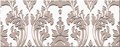Бордюр Azori Chateau Mocca Lis 20,1х8