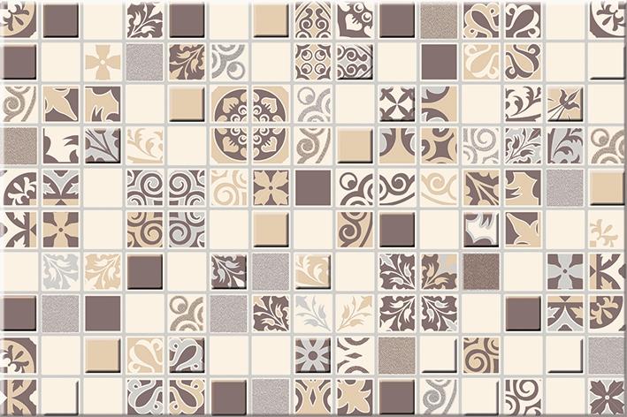 Vento Mocca Декор Mosaic - 300x200 мм/14 шт декор chateau mocca classic 50 5х20 1