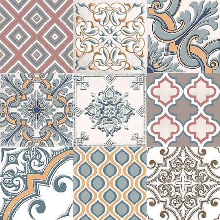 Напольная плитка Eclipse Ornament 333x333 мм/63.84 напольная плитка azori chateau blue 33 3x33 3