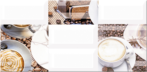 Вог Декор Латте 40,5х20,1 декор azori триоль какао ноктюрн 2 20 1x40 5