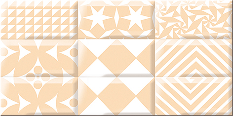 Вог Декор беж Каре лайт 40,5х20,1 плитка декор 201х405х9 мм вог эспрессо