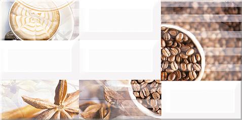 Вог Декор Арабика 40,5х20,1 плитка декор 201х405х9 мм вог эспрессо