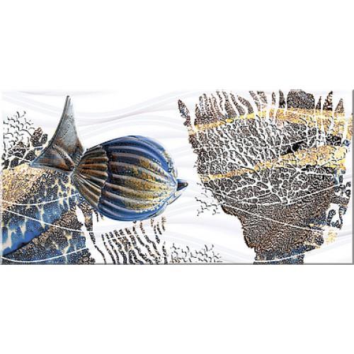Лидо Декор Дениз - 405х201 мм/13 шт декор azori триоль какао ноктюрн 2 20 1x40 5