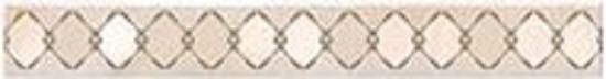 Бордюр Agat Beige Atlantic 505x62 мм/39 шт напольная плитка azori agat beige 33 3х33 3
