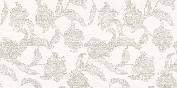 Mallorca Плитка настенная Beige Floris 31,5x63 плитка настенная 31 5х63 mallorca beige floris бежевый