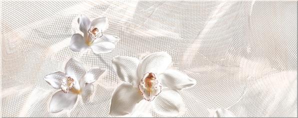 Декор Агат беж Орхидея 20,1х50,5 декор azori триоль какао ноктюрн 2 20 1x40 5