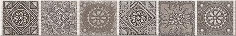 Grazia Бордюр Mocca Nefertiti 6,2х40,5 бордюр grazia vintage bordura ivory 3 5x20