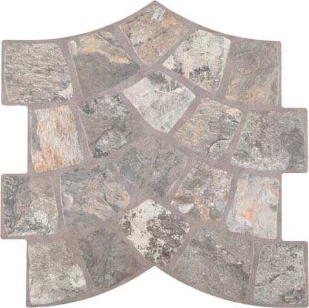 Напольная плитка Azulev Calzada Stone 35x35 лайтбокс абстракция 9 35x35 073