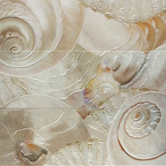 Decor caracolas nacar Панно (из 3-х плиток) 60x60