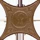 Вставка напольная Azulev Cross Estrella Nami 6,7х6,7 la estrella solitaria