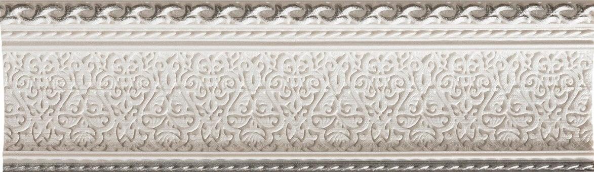 Бордюр Azulev List Delice Reposo Blanco 9x29 бордюр adex neri relieve clasico blanco z 7 5x15