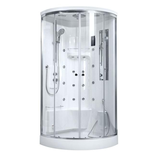 Душевая кабина BandHours Optima пульт сенсорный для ванн aquanet 205025