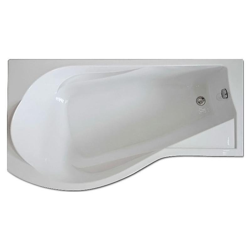 Акриловая ванна Bas Капри 170x95 без гидромассажа ванна bas верона фолдон