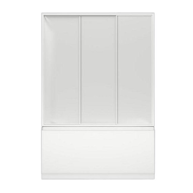 Шторка для ванны Bas Лима 130 стекло bas лима 130x70 стандарт