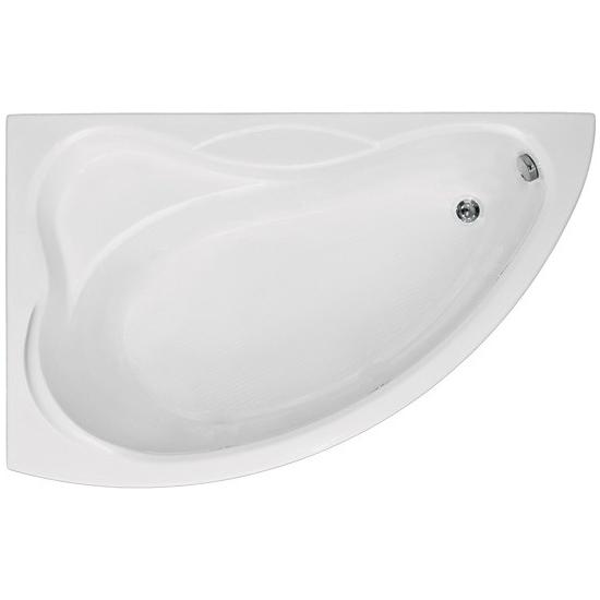 Акриловая ванна Bas Вектра 150x90 без гидромассажа ванна bas верона фолдон