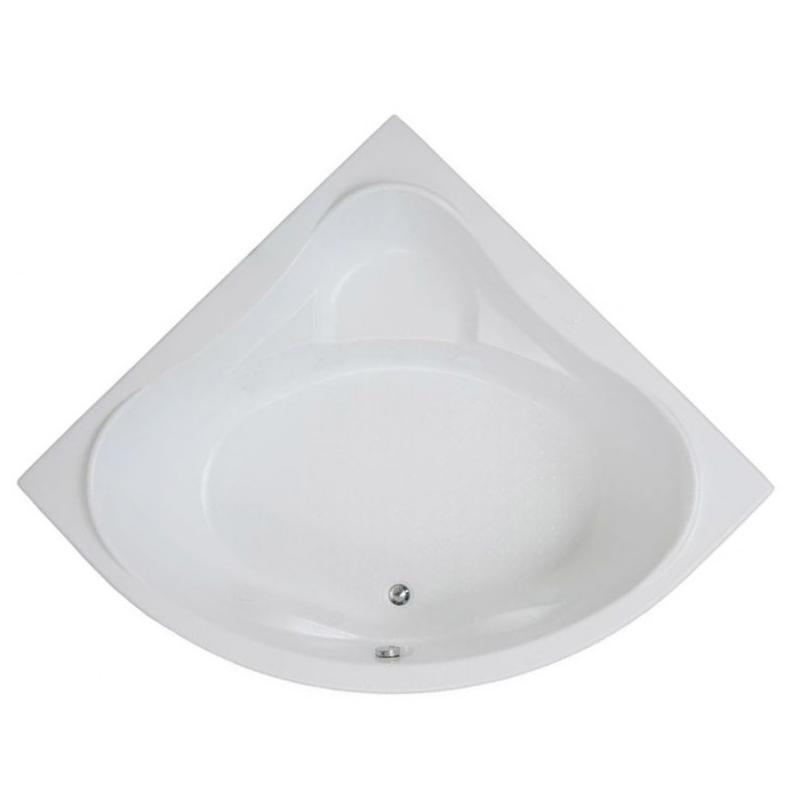 Акриловая ванна Bas Мега 160x160 без гидромассажа ванна акриловая bas тесса 1400х700 мм