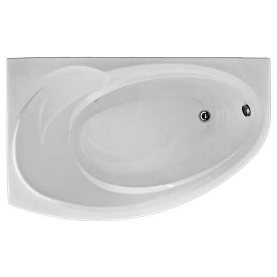 Акриловая ванна Bas Фэнтази 150x88 без гидромассажа ванна bas верона фолдон