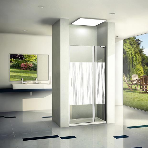 Душевая дверь Good Door Pandora WTW-130-T-CH