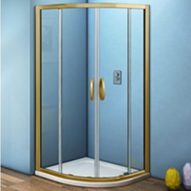Душевой уголок Good Door Jazze R-80-C-BR без поддона