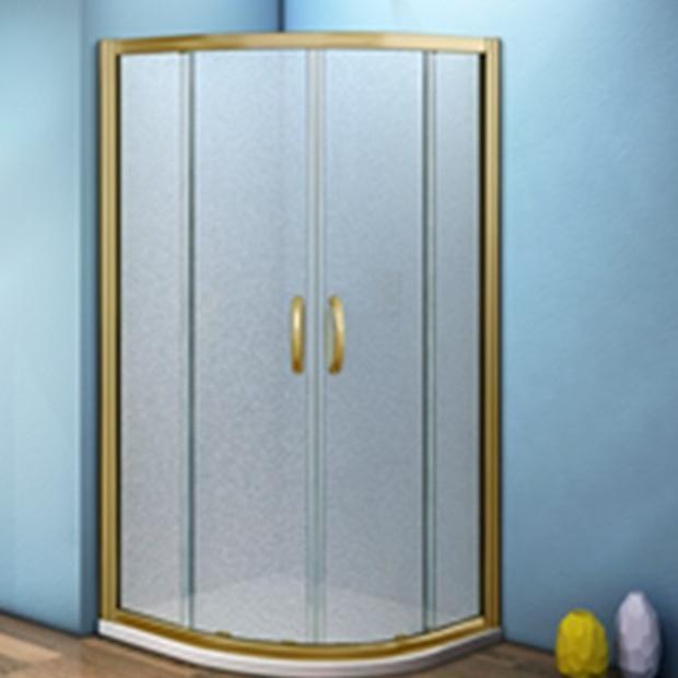 Душевой уголок Good Door Jazze R-100-G-BR без поддона