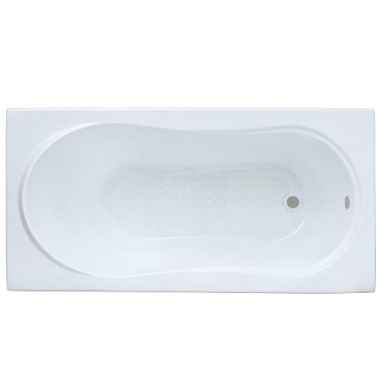 Акриловая ванна Bas Лима ST. 130x70 без гидромассажа bas лима 130x70 стандарт
