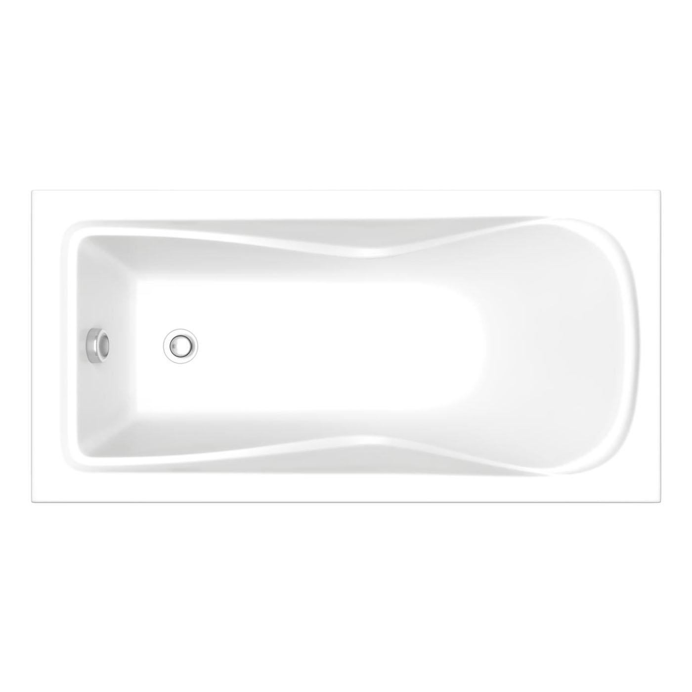 Акриловая ванна Bas Галант ST. 160х70 без гидромассажа акриловая ванна bas империал 150x150 без гидромассажа