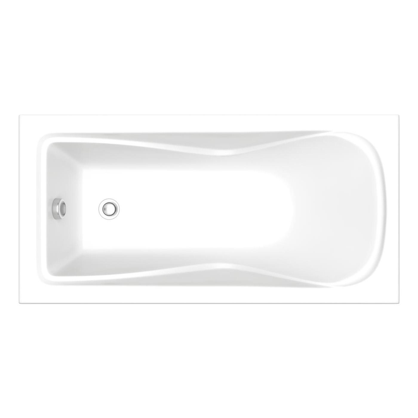 Акриловая ванна Bas Олимп ST. 170х70 без гидромассажа акриловая ванна am pm like 170х70