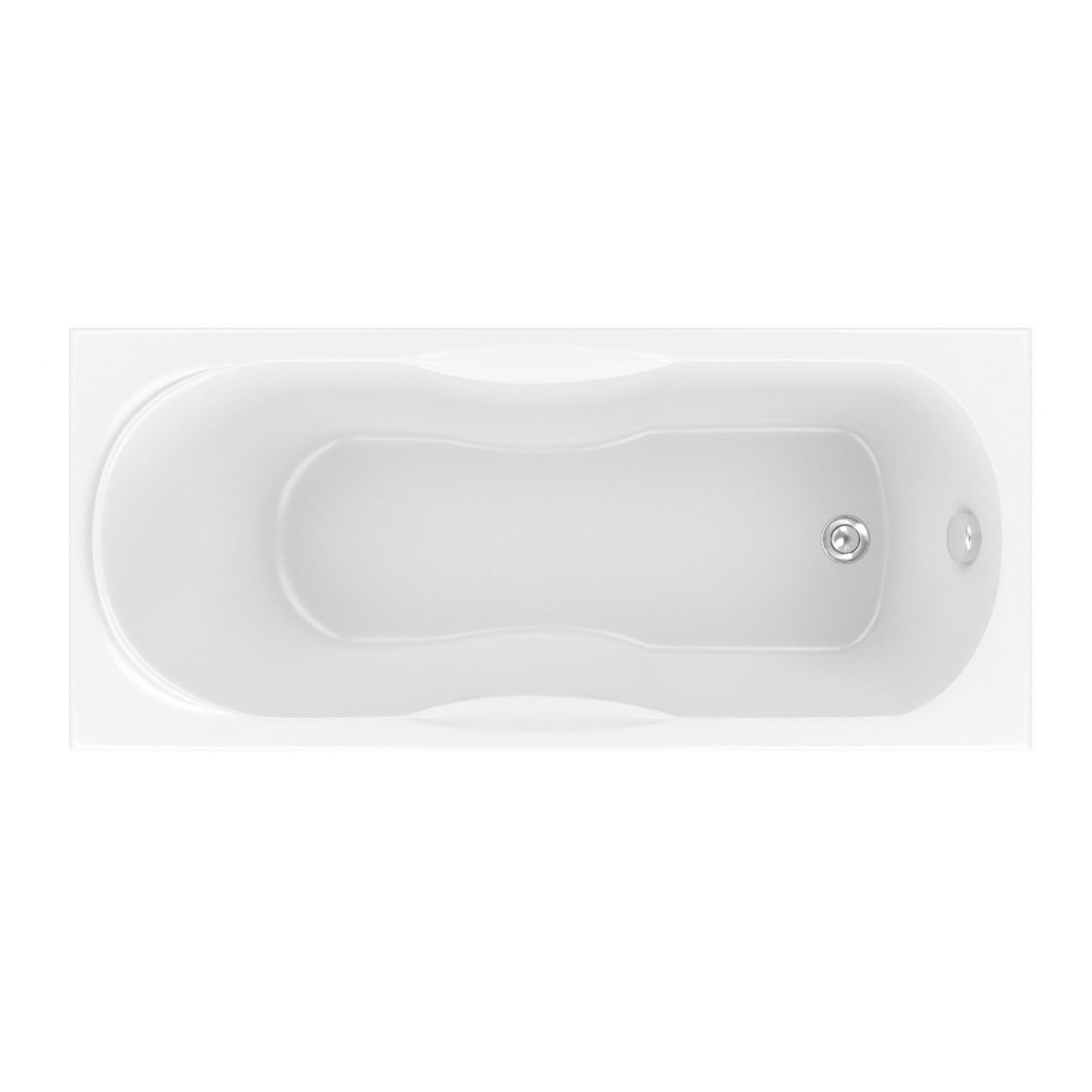 Акриловая ванна Bas Рио 170х70 без гидромассажа акриловая ванна bas империал 150x150 без гидромассажа