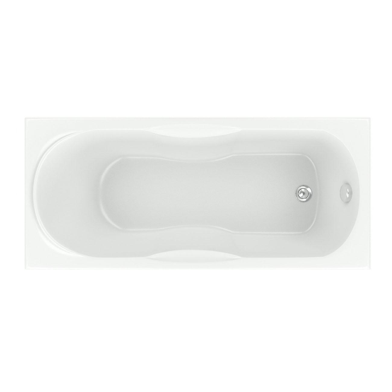 Акриловая ванна Bas Рио 160х70 без гидромассажа bas империал без гидромассажа