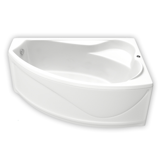 Акриловая ванна Bas Николь 170x100 без гидромассажа ванна акриловая bas тесса 1400х700 мм