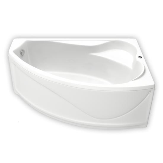 Акриловая ванна Bas Николь 170x100 без гидромассажа акриловая ванна bas империал 150x150 без гидромассажа