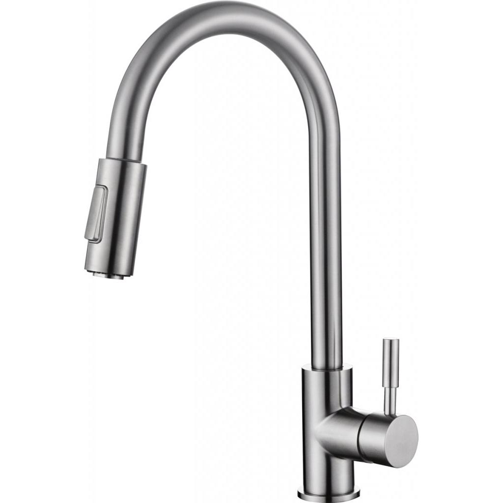 Смеситель Belbagno BB-LAM31A-IN для кухни смеситель для кухни belbagno с выдвижным изливом нержавеющая сталь сатин bb lam38 in