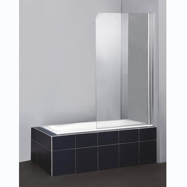 Шторка для ванны BelBagno Sela V-1-80/140-Ch-Cr-R душевая шторка на ванну belbagno sela v 11 120 140 ch cr r стекло chinchilla